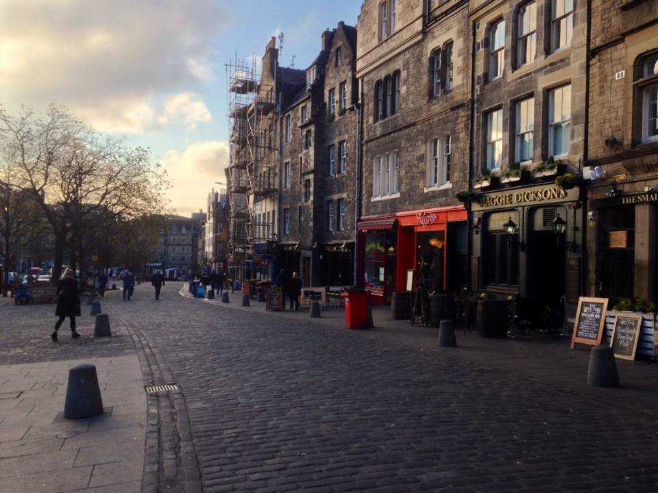 A street in Edinburgh