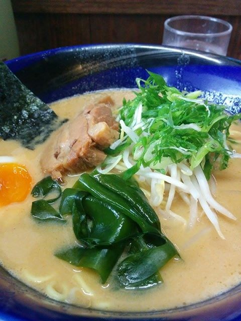 Ise Ebi Tonkotsu Ramen. If I remember correctly, we went to a ramen store called Ryu-Ou (Dragon King). This was our first meal in Shimane, after driving for four hours. It was delicious!