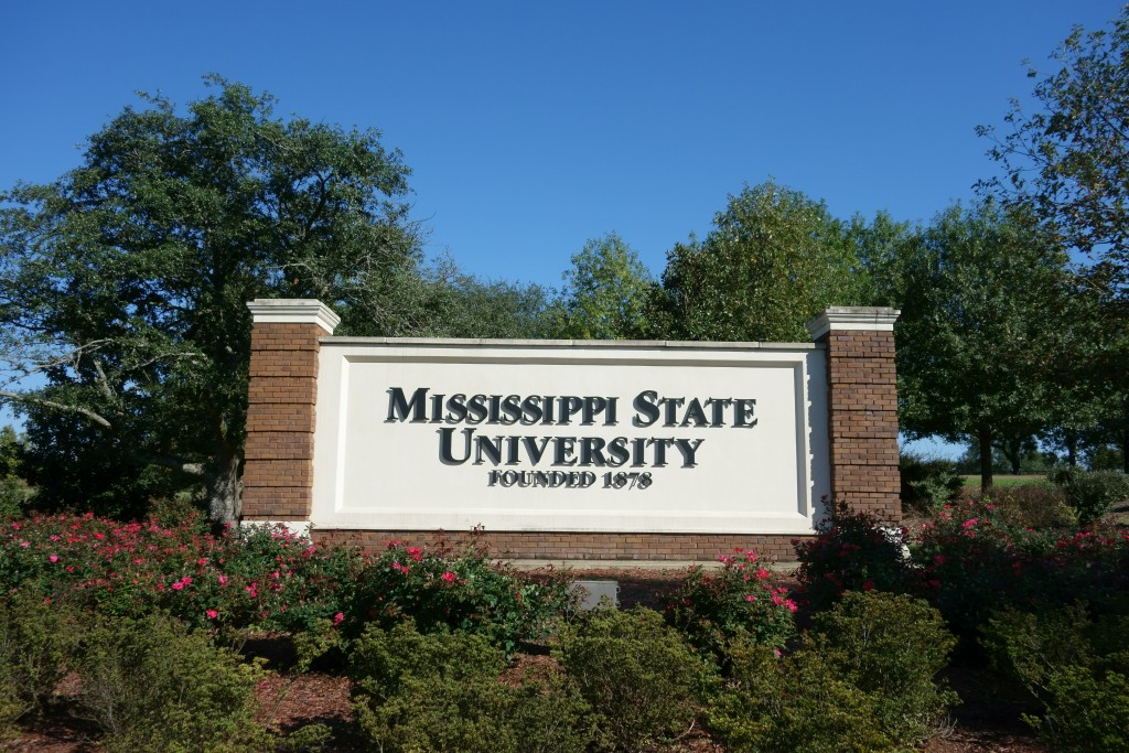 Mississippi State University: It has a history and very large