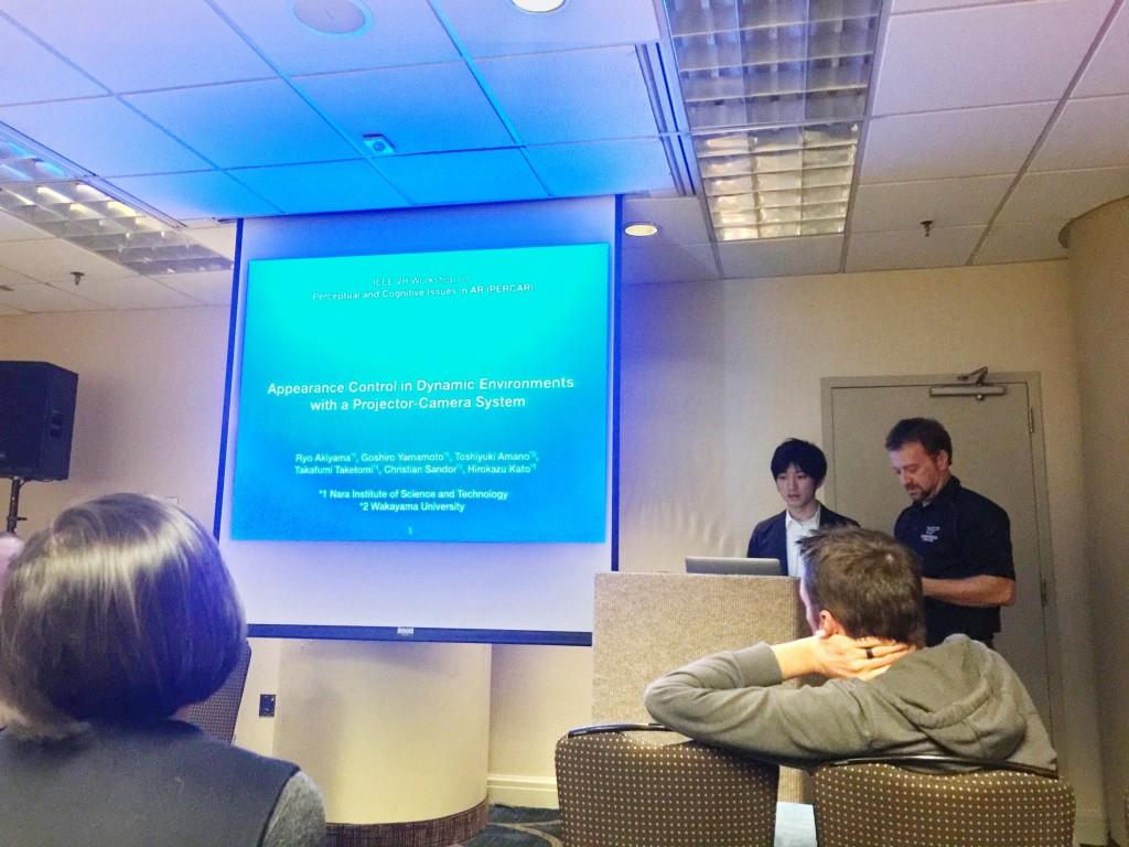 Akiyama's presentation