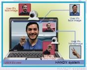 HANDY:ソーシャルプレセンスを向上させるビデオ会話システム