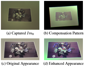 Appearance Enhancement Using a Projector-Camera Feedback System