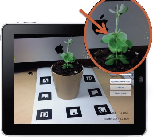 An Augmented Reality Application Supporting Observation in Experiential Learning Theory