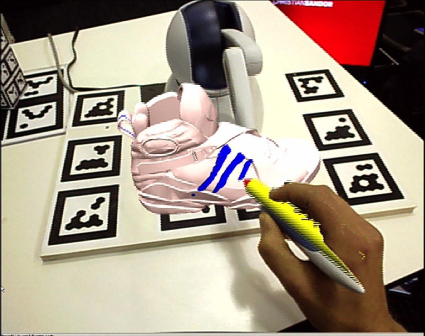 HARP: A Framework for Visuo-Haptic Augmented Reality