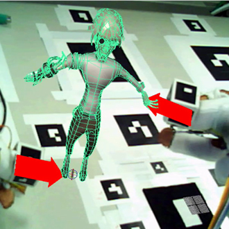 Towards Augmented Reality User Interfaces in 3D Media Production