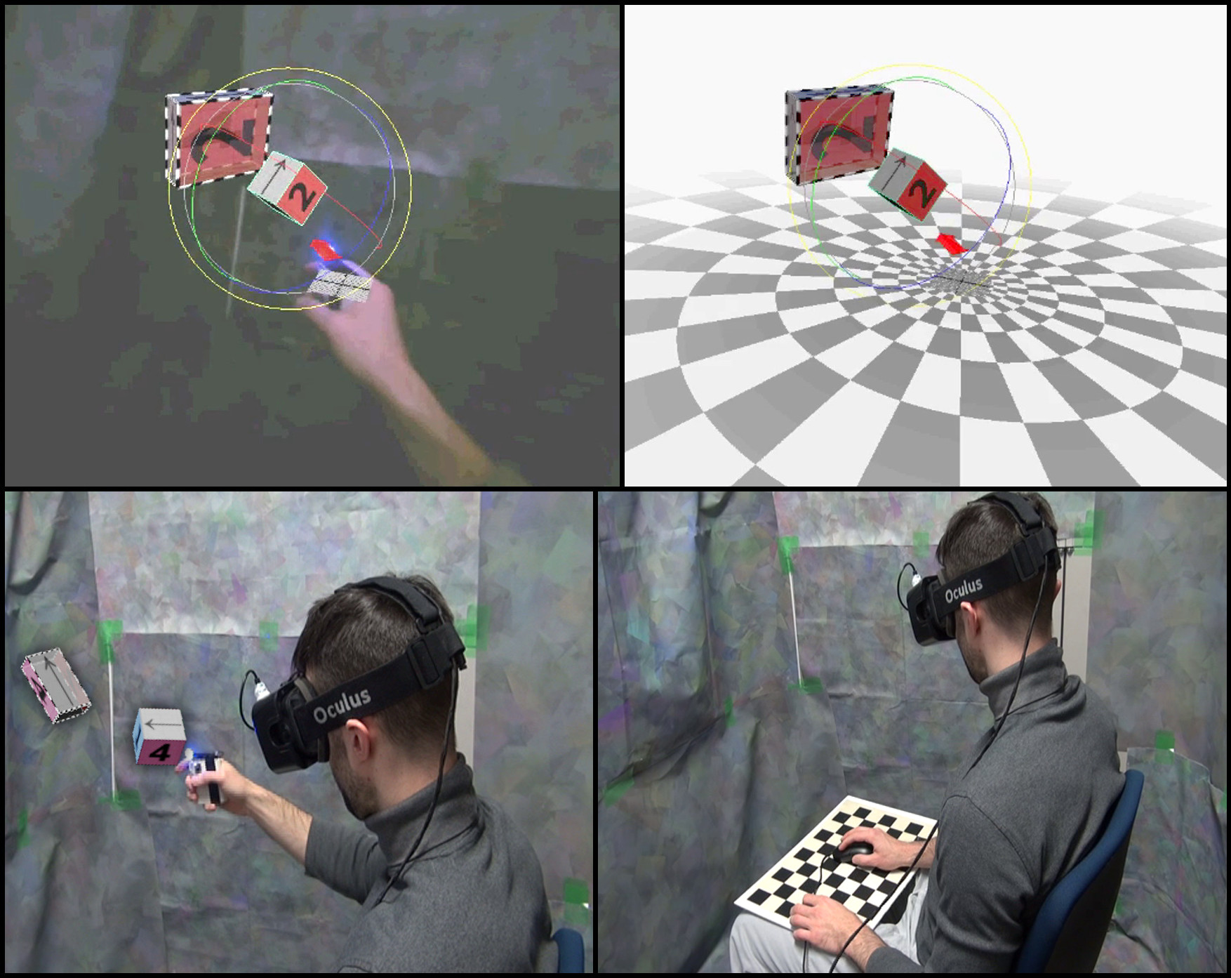 Augmented Reality versus Virtual Reality for 3D Object Manipulation