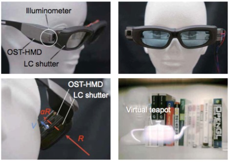 BrightView: Increasing Perceived Brightness of Optical See-Through Head-Mounted Displays through Unnoticeable Incident Light Reduction