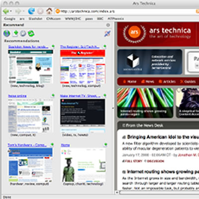 多様に変化するユーザの興味を考慮したウェブサイト推薦システム