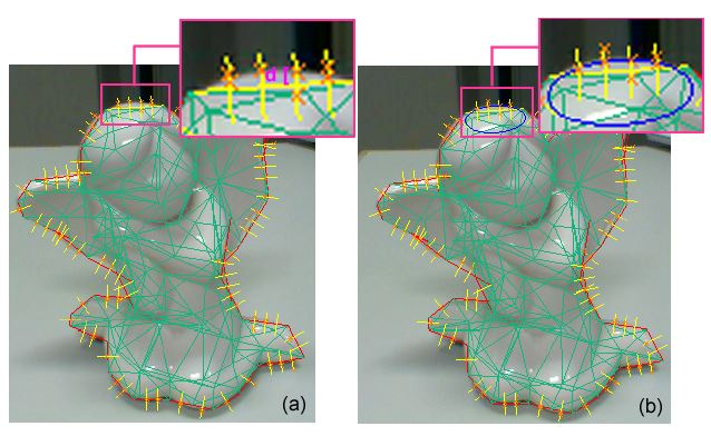 Local Quadrics Surface Approximation for Real-time Tracking of Textureless 3D Rigid Curved Objects