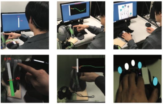 AR-PETS: Development of an Augmented Reality Supported Pressing Evaluation Training System