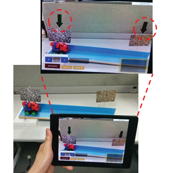 Design of a Handheld-based Motion Graphing Application for Physics Classes