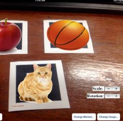 A Mobile Authoring Tool for Augmented Reality Content Generation Using Images as Annotations