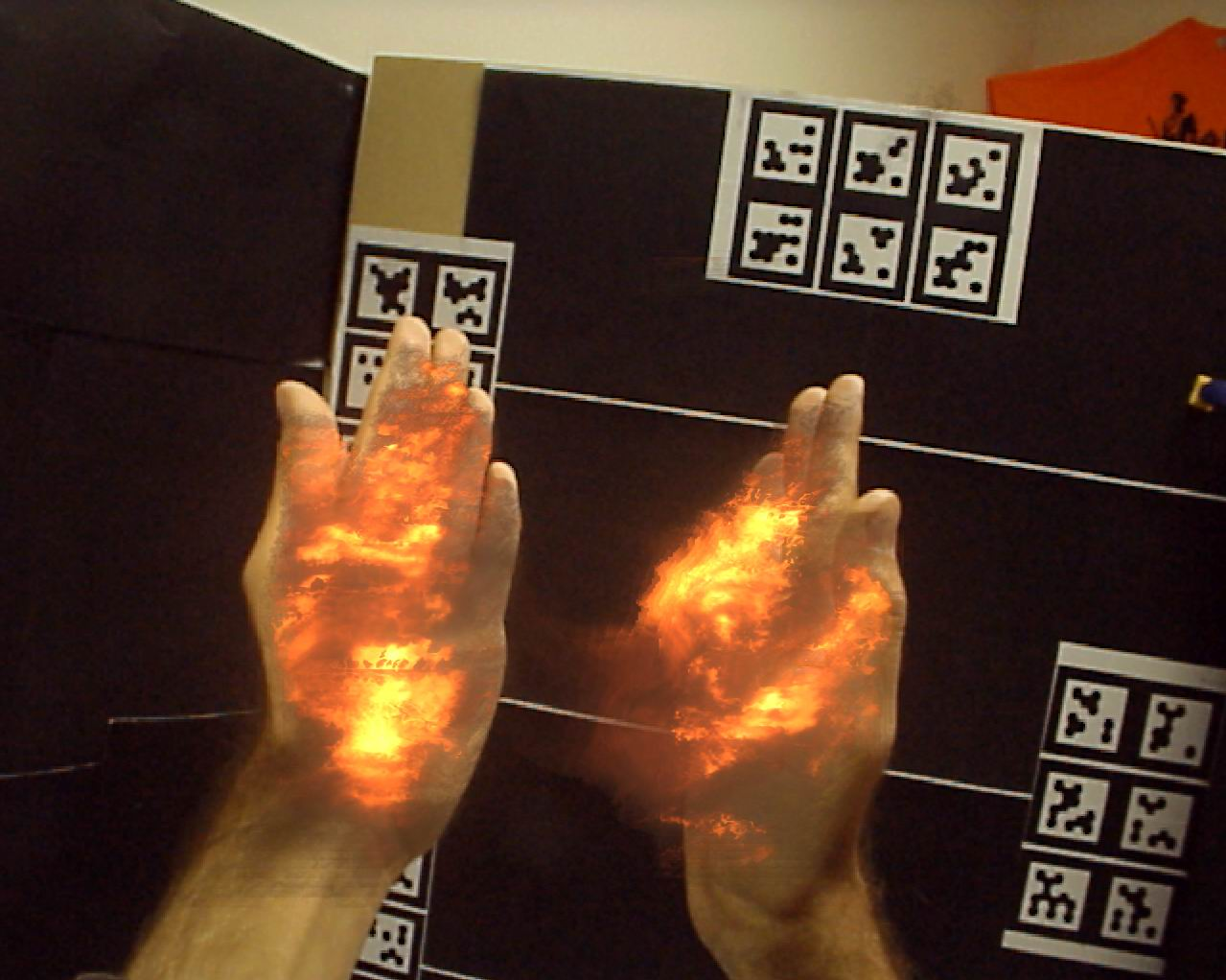 BurnAR: Involuntary Heat Sensations in Augmented Reality