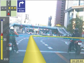 AR-Navi: An In-Vehicle Navigation System Using Video-Based Augmented Reality Technology